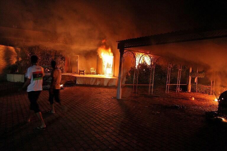 Masu Zanga-zanga a birnin Benghazi na kasar Libya