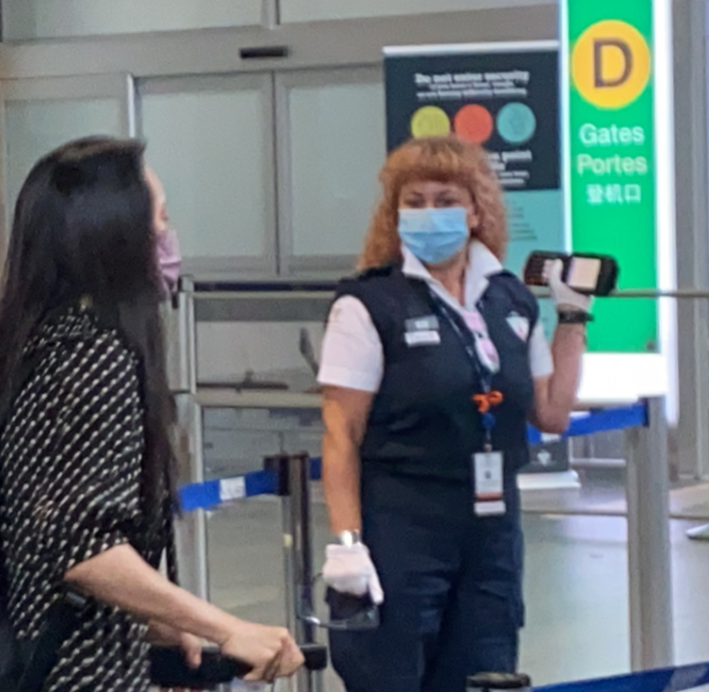 華為首席財務官孟晚舟抵達溫哥華國際機場資料圖片