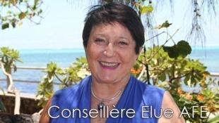 Michèle Giraud Malivel, Conseiller océan indien, présidente du comité organisateur des célébrations du tricentenaire.