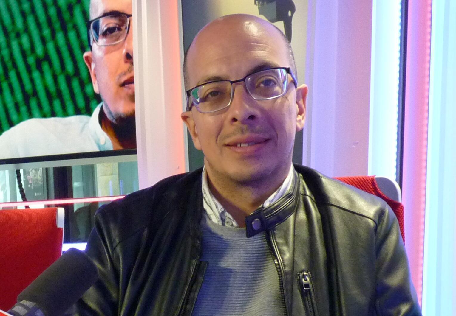Jorge Volpi en los estudios de RFI