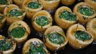 法国美食烤蜗牛