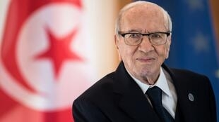 The late Tunisian President, Beji Caïd Essebsi, who died on 25 July 2019.