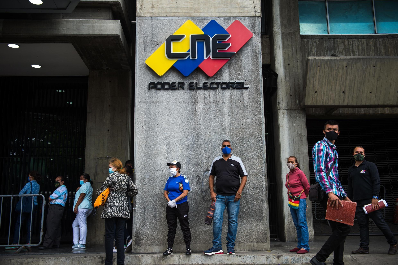 Caracas - Venezuela - elections législatives