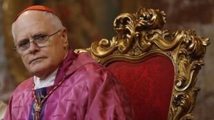 O arcebispo de São Paulo, cardeal dom Odilo Scherer
