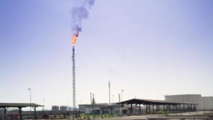 Une raffinerie au Nigeria