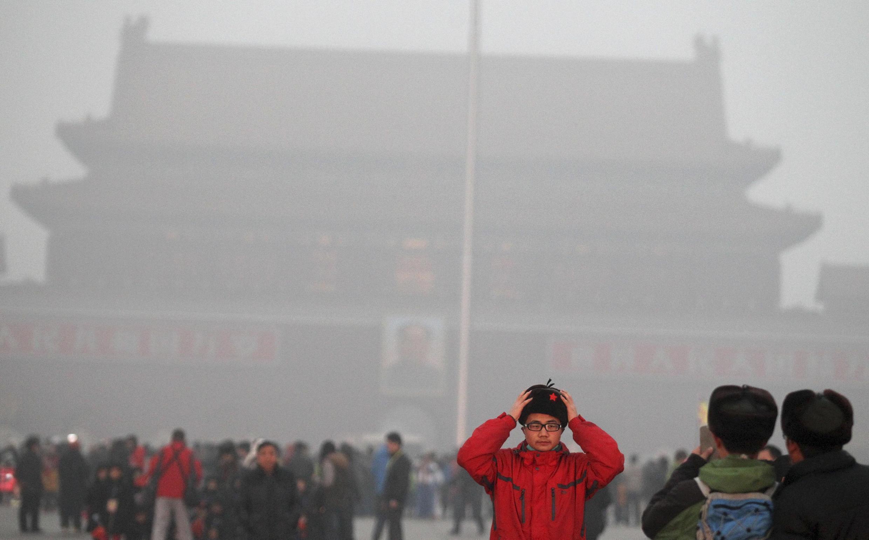 Ô nhiễm không khí tại Bắc Kinh, 31/01/2013.