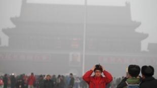 北京持续雾霾天气