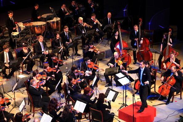 En Autriche, une partie de l'orchestre Philarmonique de Vienne a pu se faire vacciner, sans que ses membres soient prioritaires selon les critères actuels. (Photo d'illustration datant de 2011)