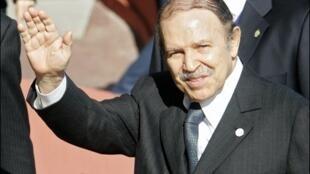 عبدالعزیز بوتفلیقه، رییس جمهور الجزایر