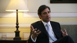O primeiro-ministro português, Pedro Passos Coelho