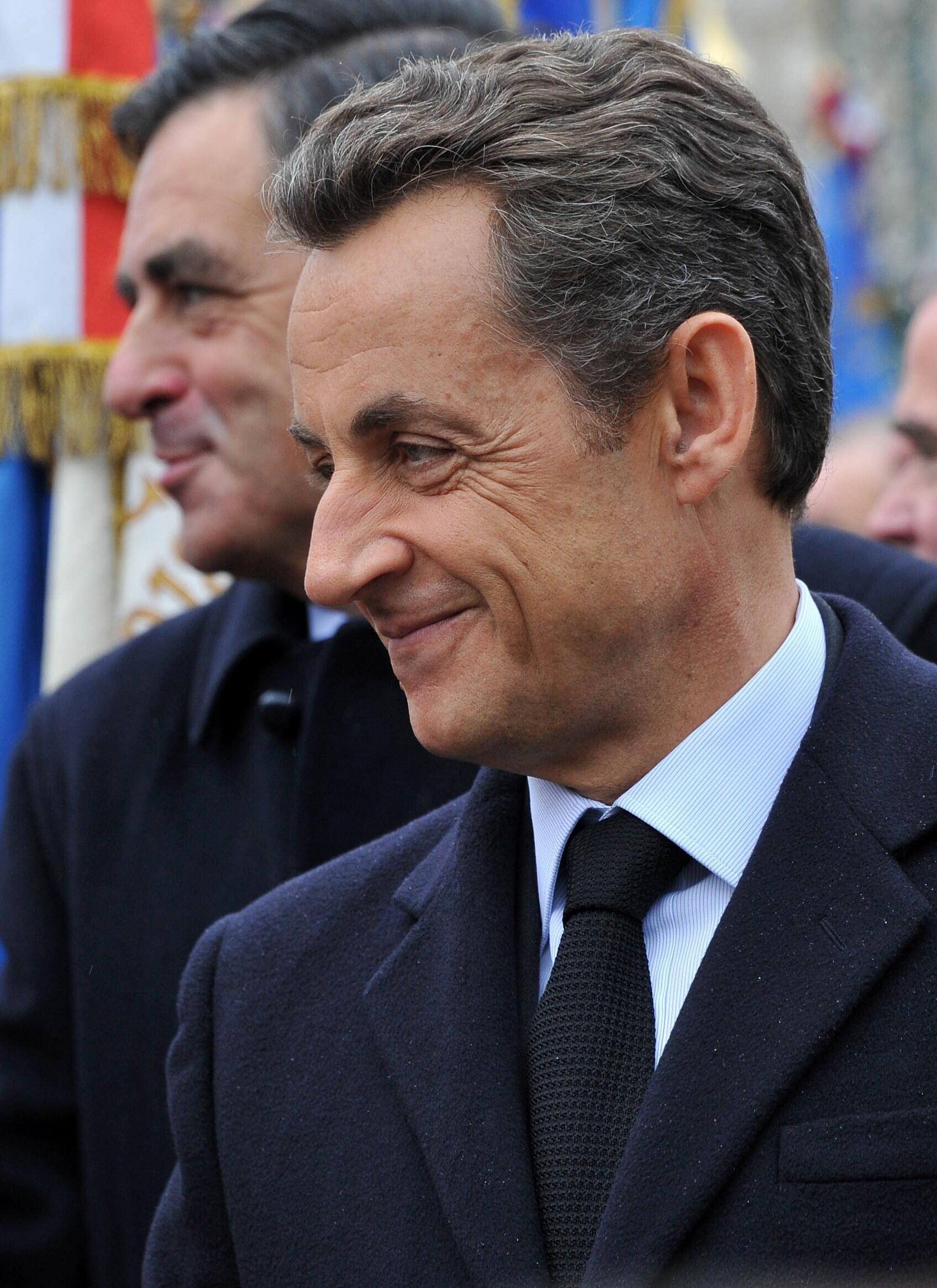 Nicolas Sarkozy and François Fillon