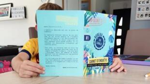 En cavale, maison d'édition de jeux d'enquête sans écrans pour les enfants de 7 à 12 ans