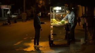 A Gaza ce 20 février, commerces et banques étaient fermés pour protester contre une crise économique qui ne fait que s'accentuer (photo d'archives).