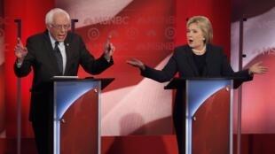 Bernie Sanders da Hillary Clinton 'yan takara a inuwar  jam'iyar Democrats
