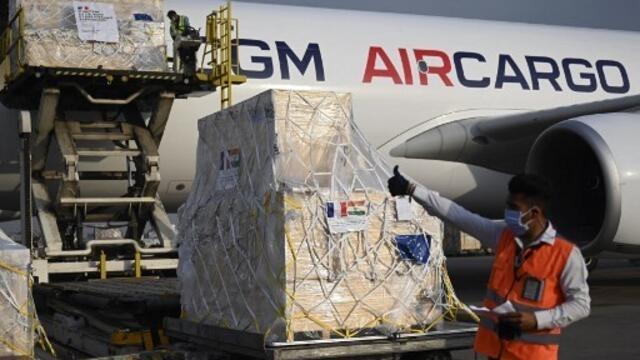 【视频】国际援助印度 法国运输机载28吨医疗设备周日抵新德里(photo:RFI)