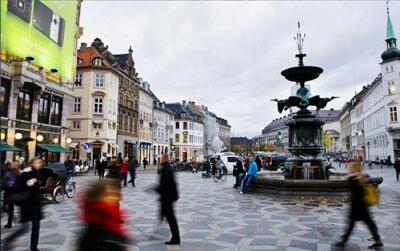 Copenhague, capitale du Danemark.