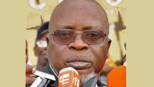 Presidente da Guiné-Bissau Malam Bacai Sanhá.