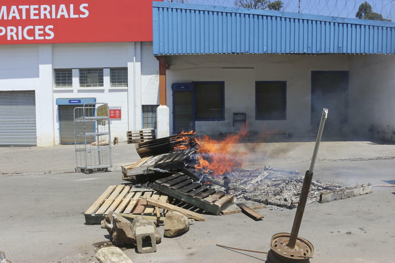 IMAGE De nouvelles manifestations à Mbabane ont fait sept morts, ce 20 octobre 2021, en Eswatini.