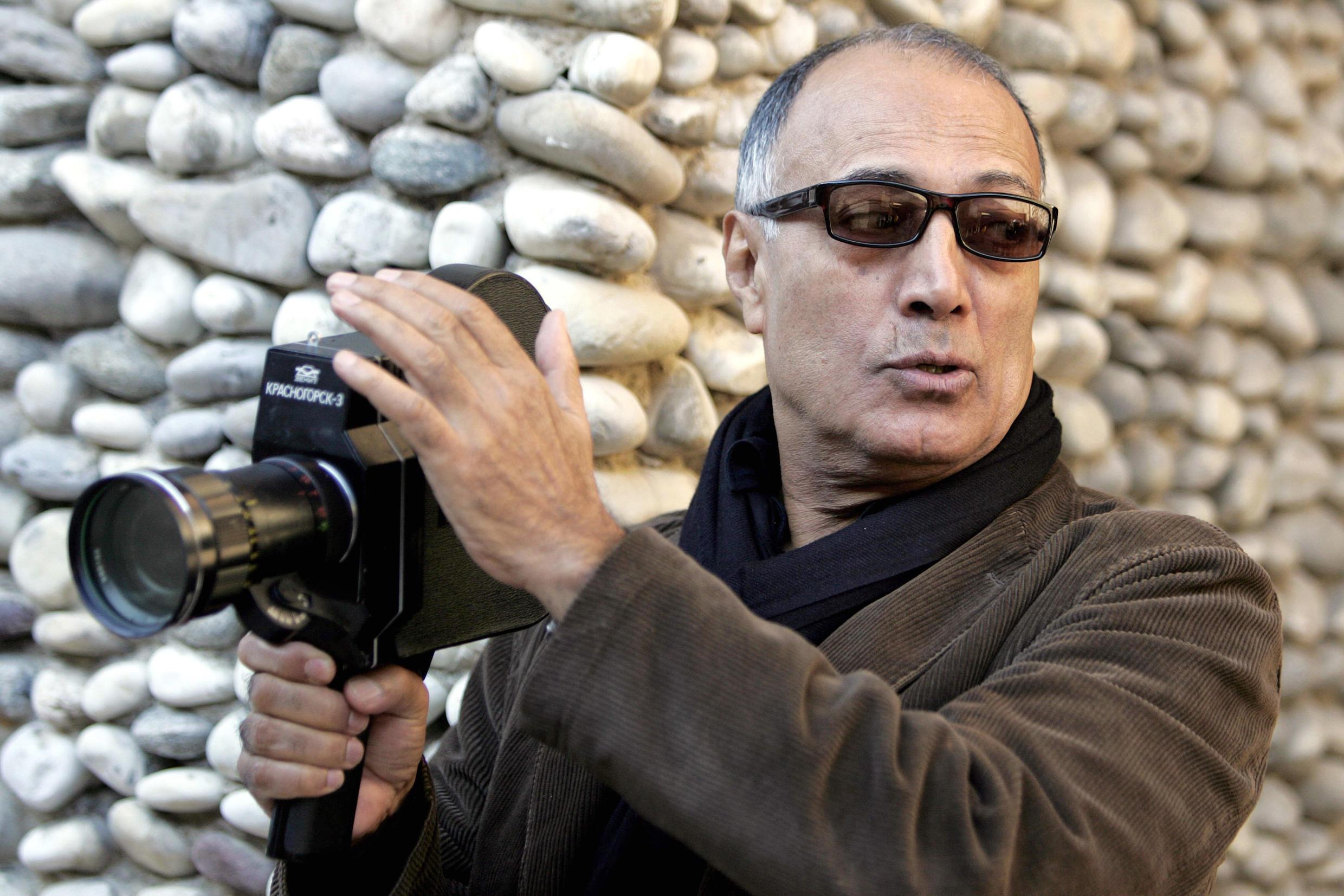 Abbas Kiarostami em Nice, sul da França, em 2007.