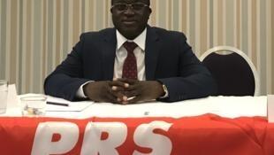 Florentino Mendes Pereira, secretário-geral do PRS na Guiné-Bissau