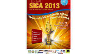 Affiche de la 9e édition du festival Stars de l'intégration et de la culture africaine (Sica).