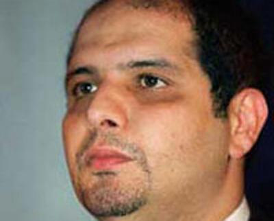 Algerian billionaire Rafik Khalifa, currently in jail in his homeland
