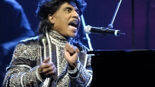 Little Richard, shown during a 2005 performance, was one of the first entertainers to reach mass black and white audiences together