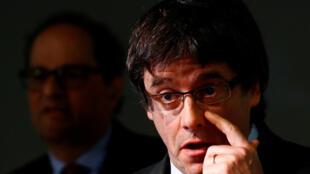 Carles Puigdemont, ex-presidente do Governo catalão