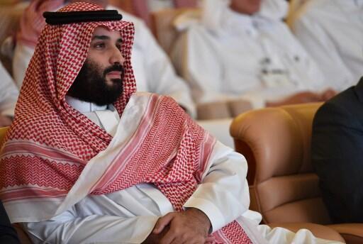 O príncipe herdeiro saudita, Mohammed ben Salman