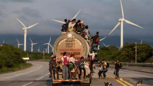 """Una de las fotos de la serie """"La caravana"""" de Guillermo Arias."""