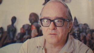 O poeta Vinicius de Moraes, em foto de 1970