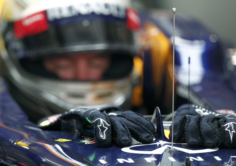 El piloto alemán Sebastian Vettel.