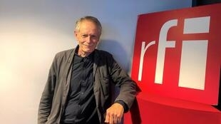 Erri De Luca, écrivain italien, en studio à RFI (septembre 2020).