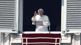 Bento 16 celebrou neste domingo, 17 de fevereiro de 2013, sua penúltima oração do Ângelus.