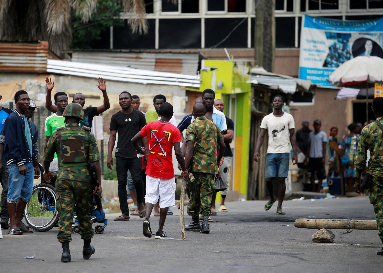 À Lagos, ce vendredi 23 octobre, la situation était toujours tendue.