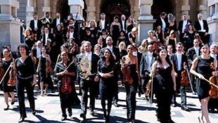 La Orquesta Filarmónica KwaZulu-Natal.
