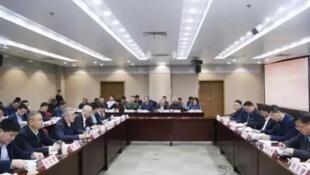 中共丽水市委书记胡海峰向中共中央扫黑除恶下沉督导小组汇报