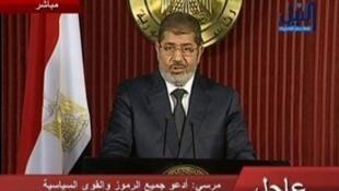 ប្រធានាធិបតីអេហ្ស៊ីបលោក Mohamed Morsi