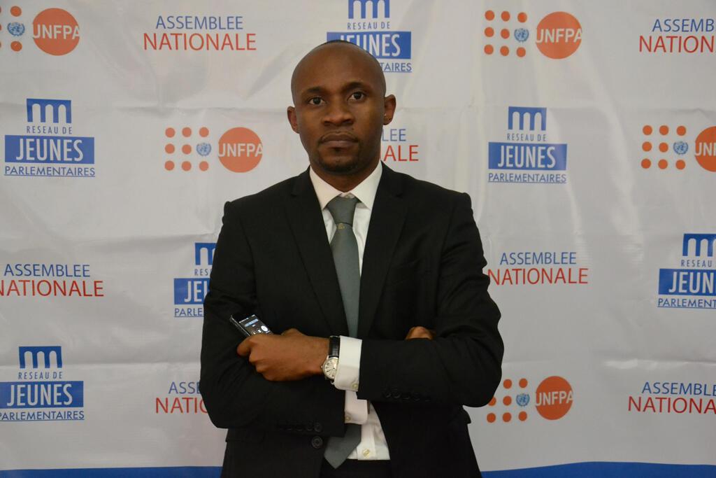 Patrick Muyaya, député du Palu, parti allié à la majorité présidentielle.