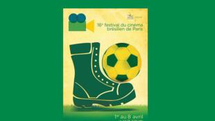Cartaz do 16° Festival de Cinema brasileiro de Paris
