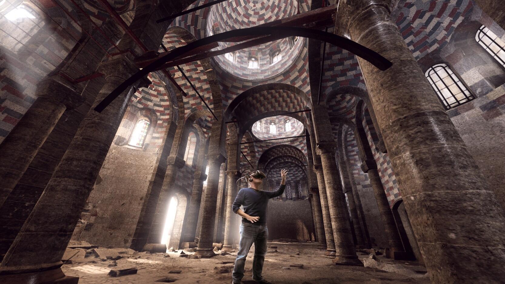 La Iglesia de Nuestra Señora de la Hora en Mosul, en 3D.