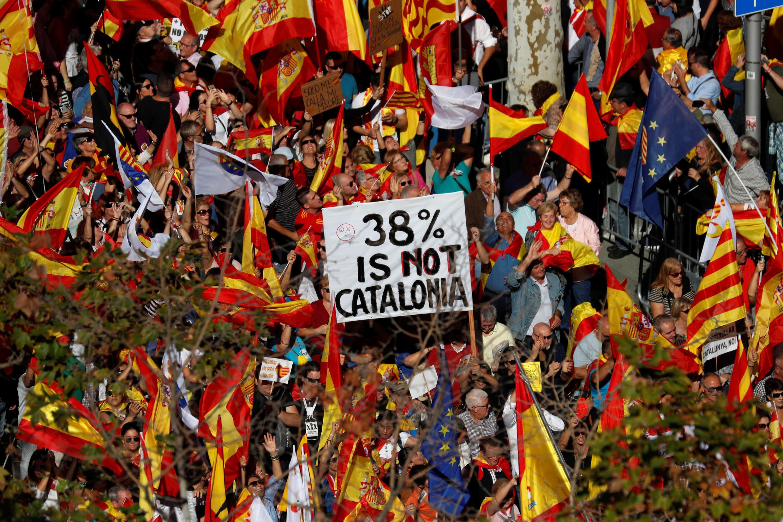 Catalonia yaendelea kukumbwa na maandamano makubwa.