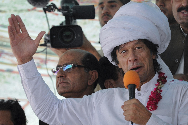 លោក Imran Khan មេក្រុមប្រឆាំងមកពីបក្សយុត្តិធម៌ (PTI)
