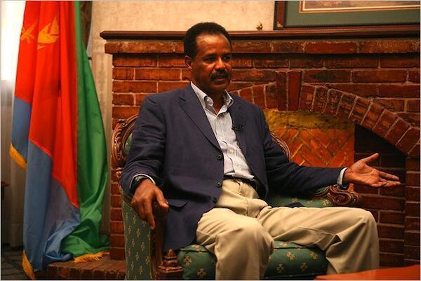 Sugaban kasar Eritrea, Issaias Afeworki