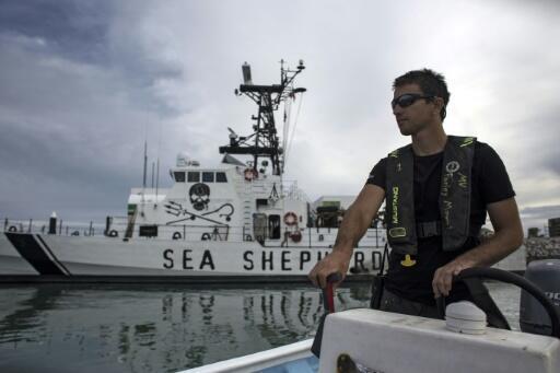 """El barco Sea Shepherd opera desde 2018 en la operación """"Milagro"""" para proteger a la vaquita marina de la pesca indiscriminada."""