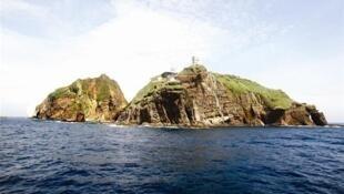 日本1951年的地图曾经承认独岛为韩国领土 网络照片 DR