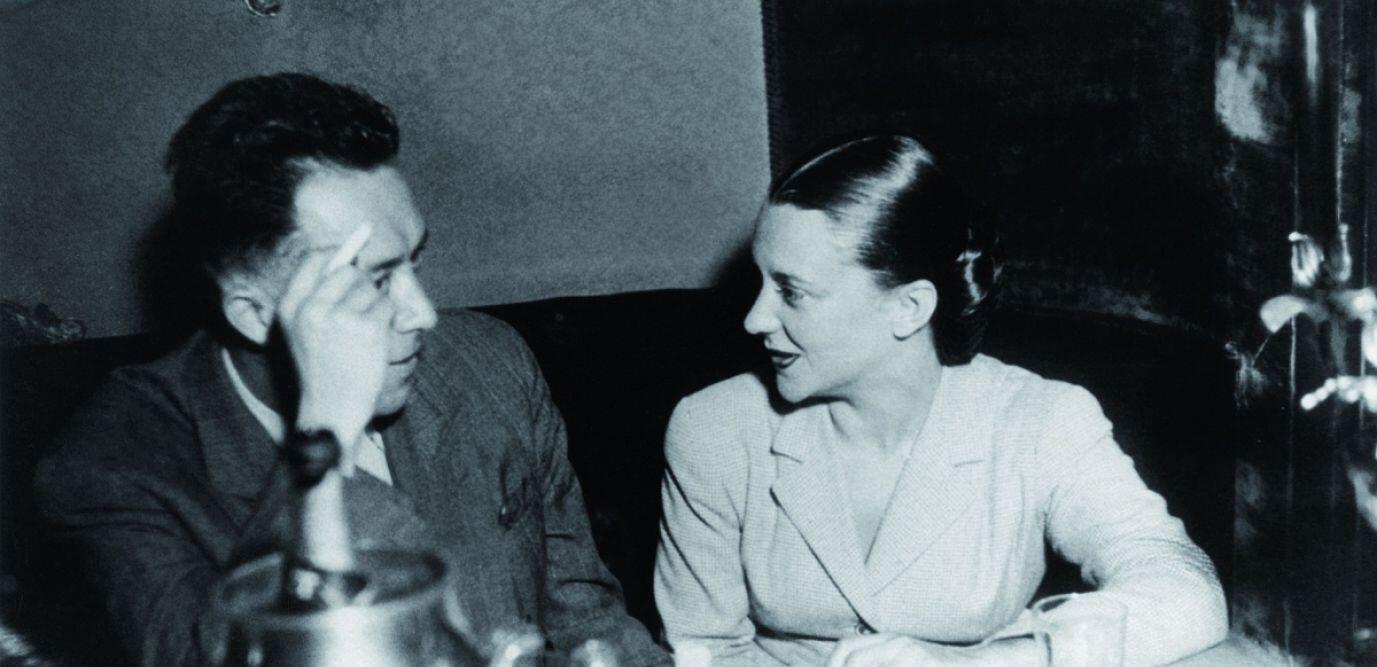آلبر کامو و ماریا کاسارس