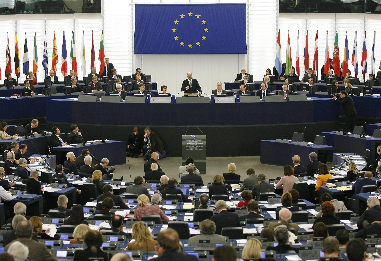 Nghị viện châu Âu tại Straspourg.