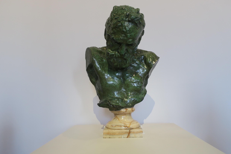 Tượng bán thân Victor Hugo (1902), Bảo tàng Rodin cho mượn tác phẩm nhân triển lãm Rodin tại Grand Palais, Paris.