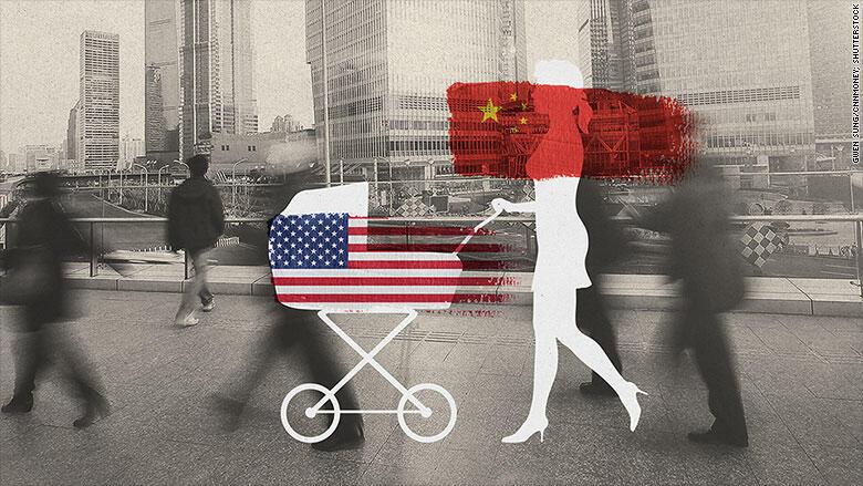 Những bà mẹ Trung Quốc trả 50.000 đô la để vào Mỹ du lịch nhưng thực chất là để chờ sinh con - DR